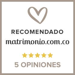 Recomendado en www.matrimonio.com.co