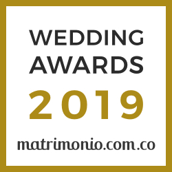 Gracia & Elegancia, ganador Wedding Awards 2019 Matrimonio.com.co
