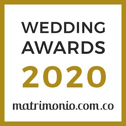Gracia & Elegancia, ganador Wedding Awards 2020 Matrimonio.com.co