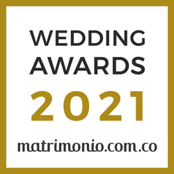 Ganador Wedding Awards 2021 Matrimonio.com.co